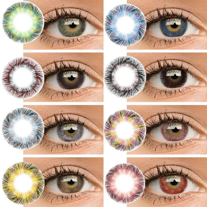 Tùy chọn màu mắt lens